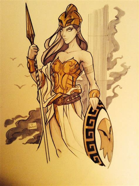 tattoo goddess athena ideas mythology and
