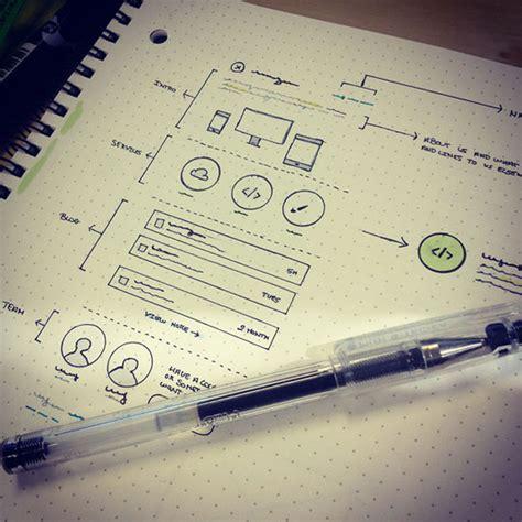 sketchbook website design 30 great exles of web design sketches designbeep