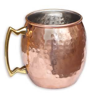 Ebay Kitchen Canisters asiacraft solid copper moscow mule mug hammered inside