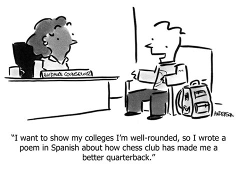 College Application Essay Humor College Admission Andertoons