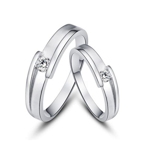 Lettering Ring exquisite creative lettering 925 sterling silver
