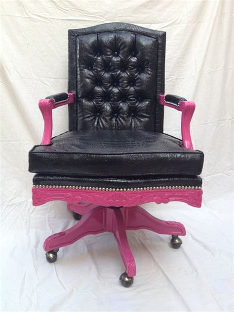 Pink Leather Office Chair Design Ideas Chair Design Ideas Pretty Office Chairs For Pretty Office Chairs Black Tufted