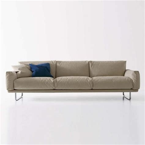 goose down couch sofa with upholstery of textile fabric a filling of
