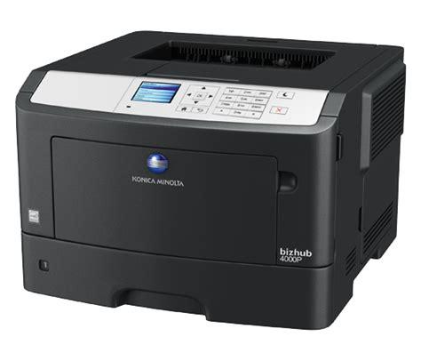 Printer Laser F4 bizhub 4000p laser printer konica minolta canada