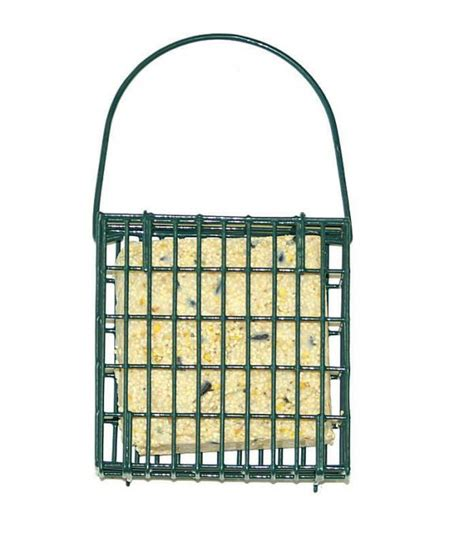 woodlink audubon series single suet cage bird feeder
