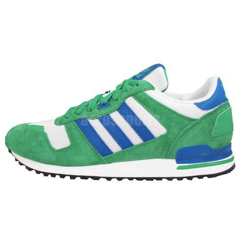 adidas original running shoes adidas originals zx 700 blue green white mens retro