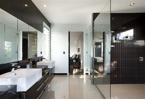 Black Modern Bathroom Black Luxury Modern Bathroom Decosee