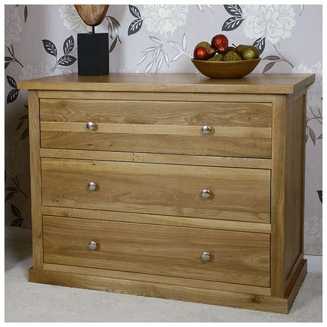 Oak Bedroom Drawers by 50 Solid Oak Chest Of 3 Drawers Glenmore Bedroom
