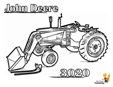 tractor coloring pages free coloring pages of tractors to print