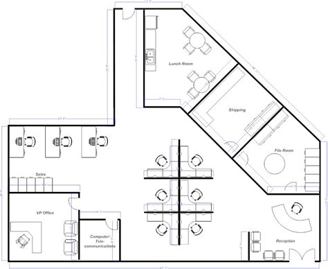 open office floor plan layout foundation dezin decor plans for prefect space