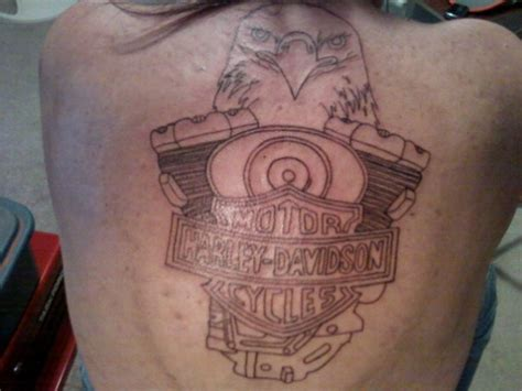 harley davidson eagle tattoo gallery harley davidson eagle tattoo design busbones