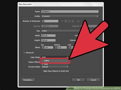 adobe illustrator how to change pattern color how to change adobe illustrator to cmyk with pictures