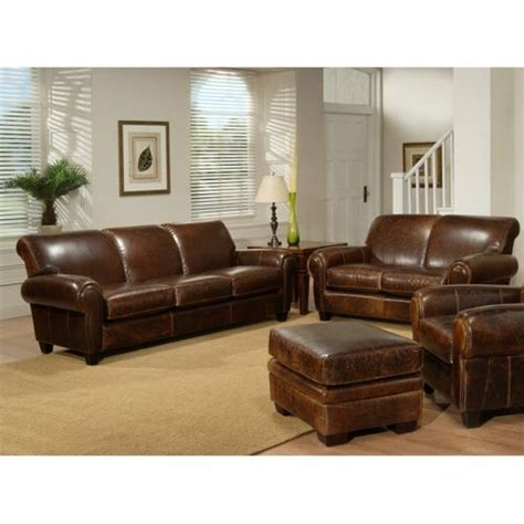 plaza top grain leather sofa and loveseat costco now