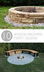 backyard fire pits designs 10 amazing backyard diy firepit designs
