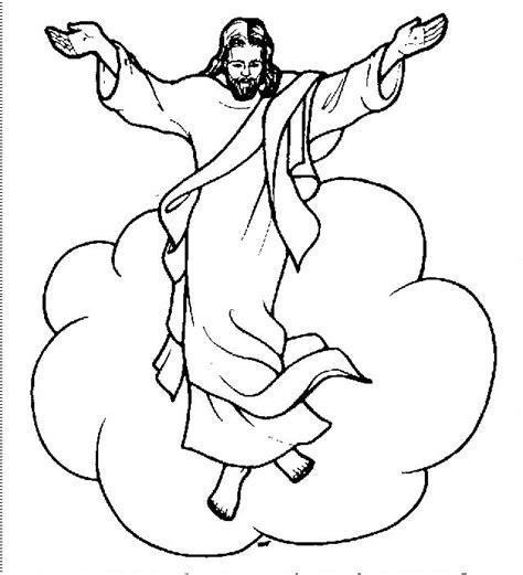 imagenes de jesucristo resucitado para dibujar dibujos para colorear de jesus resucitado ideas
