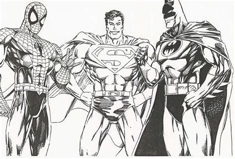 Coloring Pages Of Batman And Superman | free printable batman coloring pages for kids