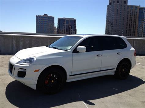 automobile air conditioning service 2009 porsche cayenne electronic toll collection buy used 2009 porsche cayenne gts loaded white panorama roof in california united states