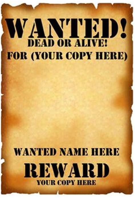 Wanted Poster Layout 29 Free Wanted Poster Templates Fbi   Kotaksurat.co