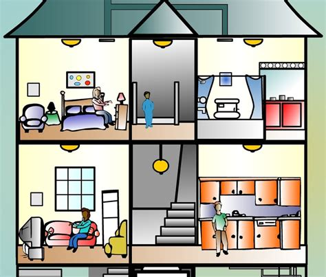 Inside A House Clipart inside a house clipart clipartsgram