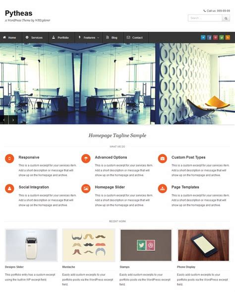 theme blog responsive wordpress 10 free responsive wordpress themes