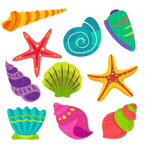 sea shell clip seashell clipart 6 187 clipart station