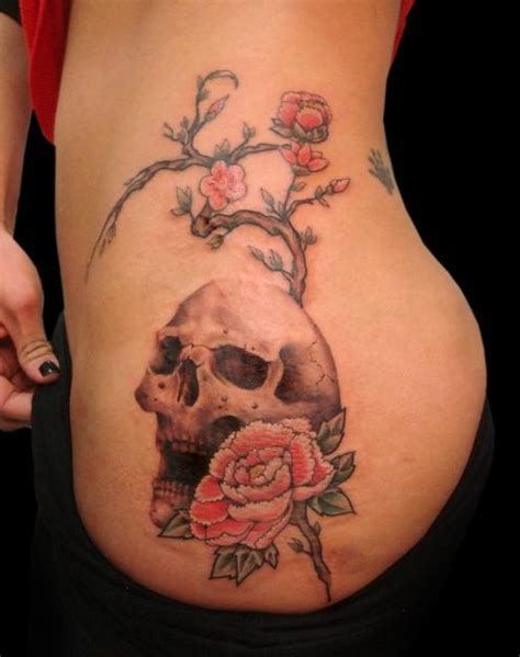 tattoo design rose and skull 50 cool skull tattoos designs pretty designs