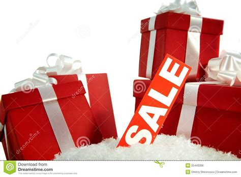 christmas sale and gifts royalty free stock image image