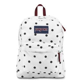 Ransel Jansport Polka Purple jansport big student backpack dots