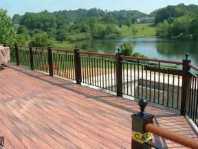 deck railings image gallery outdoor deck railings