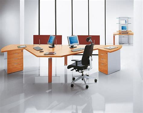 cool things for office desk 21 cool office desks for 2 people yvotube com