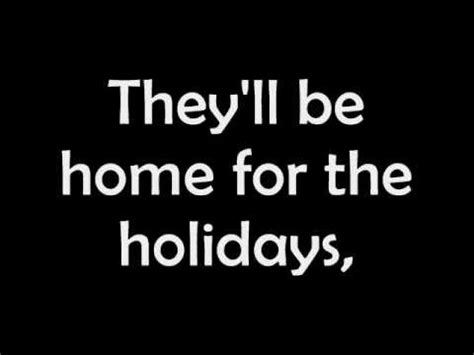matt home for the holidays lyrics