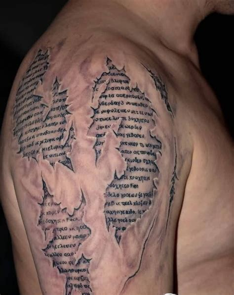 3d ripped skin tattoo ideas and 3d ripped skin tattoo