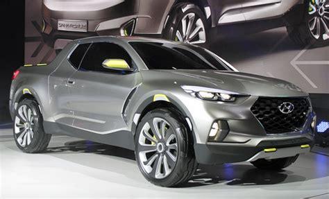 2019 Hyundai Truck by 2019 Hyundai Santa A New Generation Of The Compact
