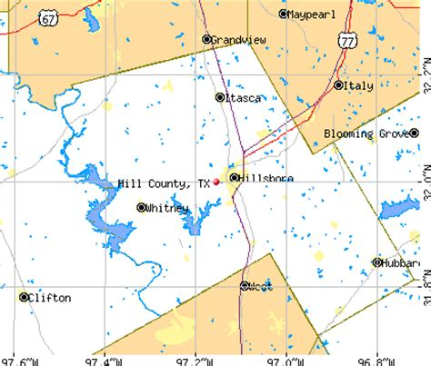 map of hill county texas hill county texas detailed profile houses real estate cost of living wages work