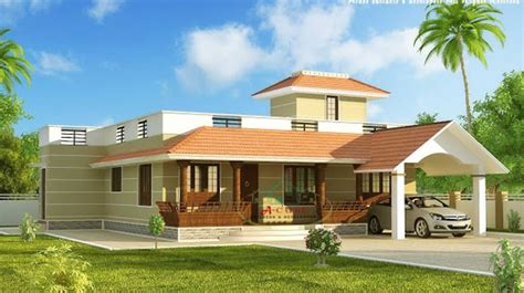 13 awesome simple exterior house designs in kerala image single floor house designs kerala house planner