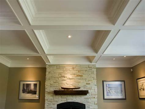roofing how to coffered ceiling kits easily with