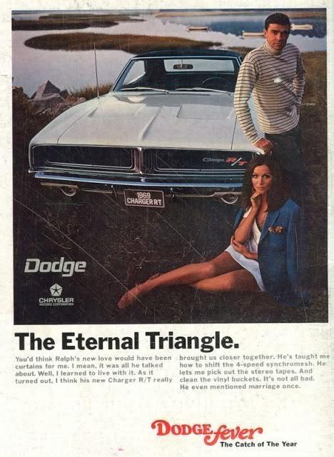 Dodge Ad 1969 Dodge Charger Vintage Ad Autothing