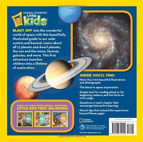 National Geographic Kids First Big Book Of Space National