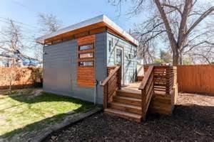 modern and minimalist kanga tiny house in austin tx