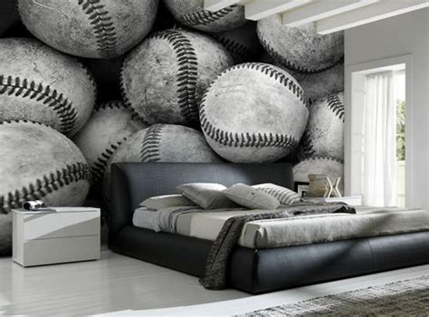 baseball bedroom wallpaper 25 best ideas about baseball wall decor on baseball wall baseball room decor and