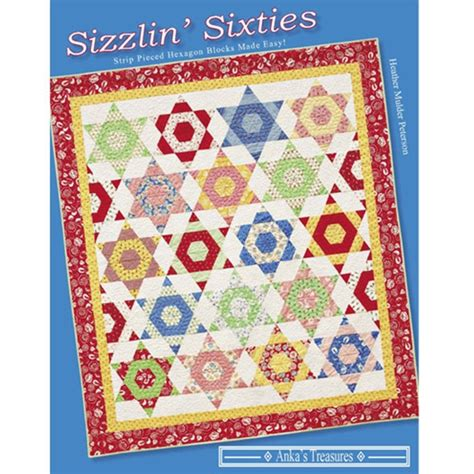 sizzlin sixties book quilters warehouses