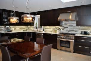 Kitchen Cabinet Doors Toronto Toronto And Thornhill Custom Modern Kitchen Design
