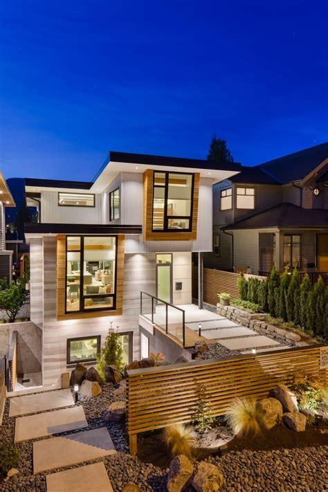 modern home design enterprise fachada de casa moderna de dos pisos y dise 241 o de