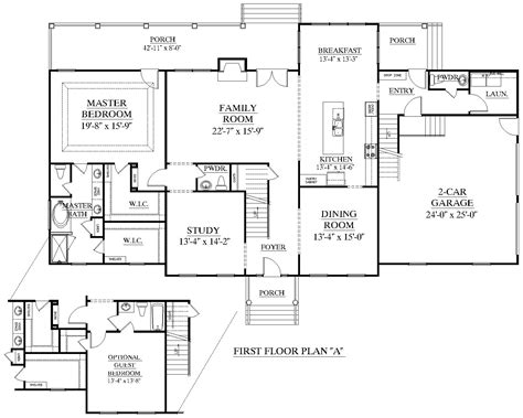 Providence Homes Floor Plans | houseplans biz house plan 3556 a the providence a