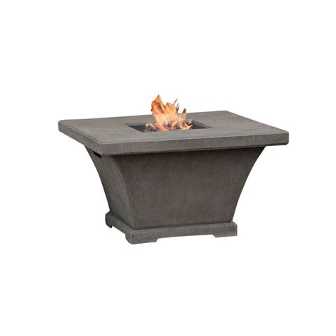 Propane Pit Real Baltic 36 In Square Gas Outdoor