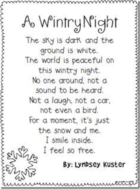 6 winter poems for students | roommomspot