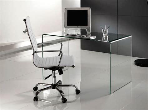 scrivanie vetro ufficio arredare l ufficio scrivania in vetro