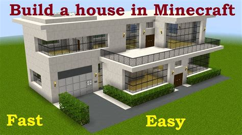 how to build a house all the steps in sections how to build a house in minecraft easy step by step