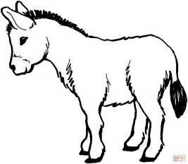 donkey coloring