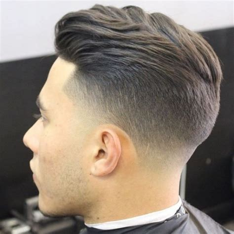 hair cuts different short at the top long on the back taper fade haircut designs cut transforms the classic for